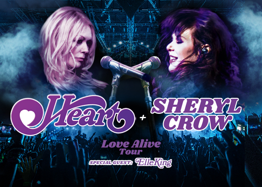 Heart, Sheryl Crow & Elle King at Lakeview Amphitheater