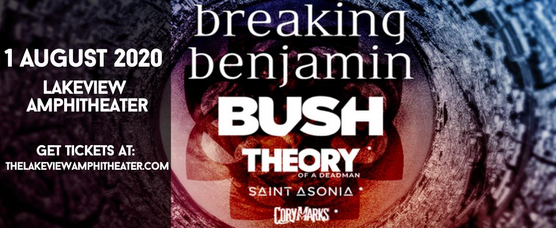 Breaking Benjamin & Bush at Lakeview Amphitheater