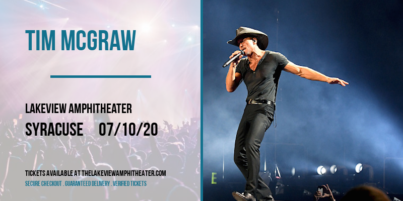 Tim McGraw at Lakeview Amphitheater