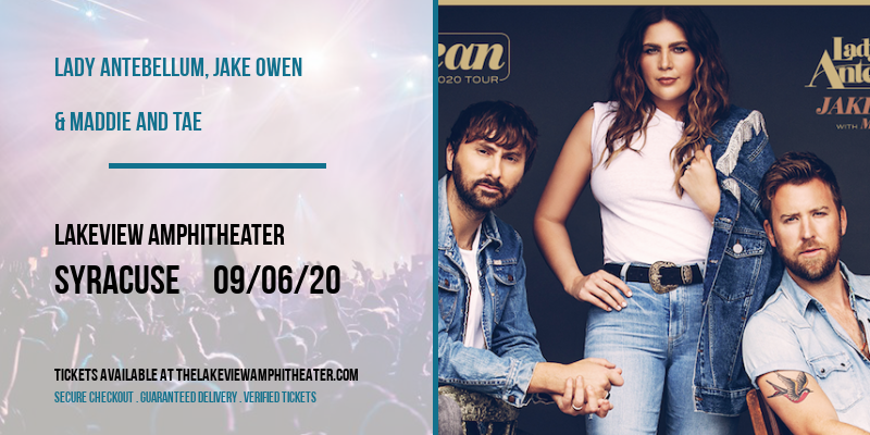 Lady Antebellum, Jake Owen & Maddie and Tae at Lakeview Amphitheater
