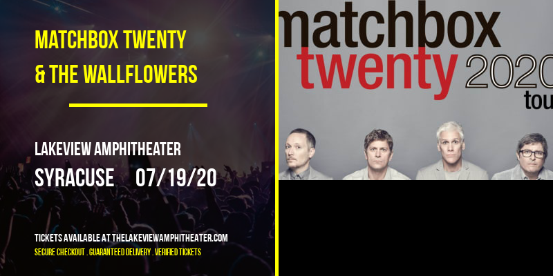 Matchbox Twenty & The Wallflowers at Lakeview Amphitheater
