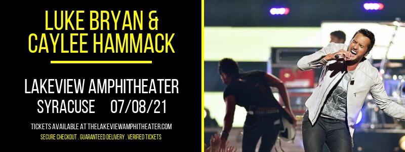 Luke Bryan & Caylee Hammack at Lakeview Amphitheater