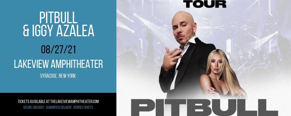 Pitbull & Iggy Azalea at Lakeview Amphitheater